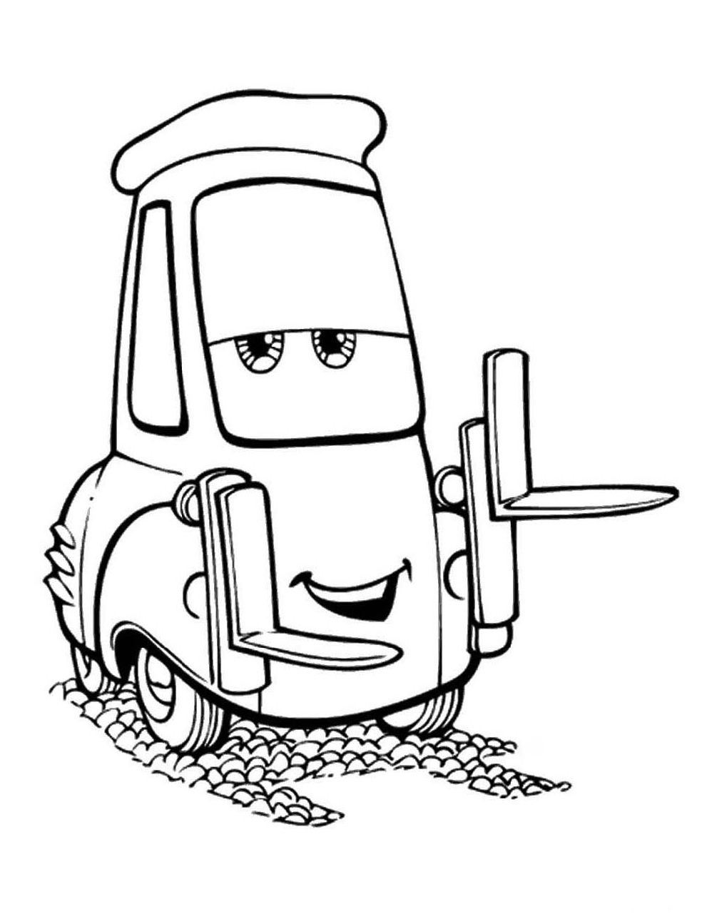 cars disney coloring pages printable - photo#10