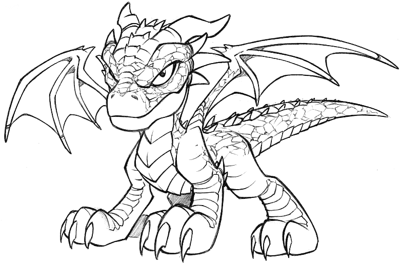 dragon coloring page free printable coloring pages - 780×513